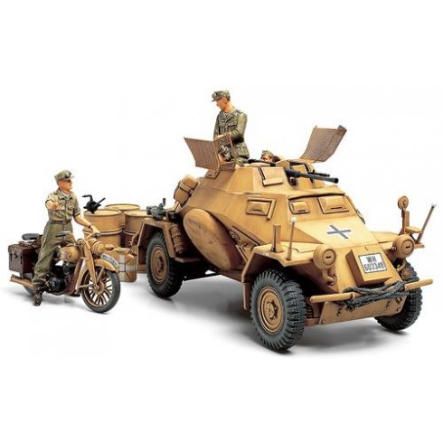 Tamiya Sd.Kfz.222 North Africa makett