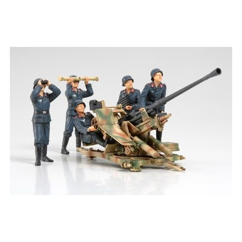 Tamiya FLAK37 Anti-Aircraft Gun Set makett