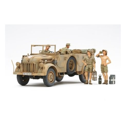 Tamiya German Steyr Type 1500A/01 - & Africa Corps makett