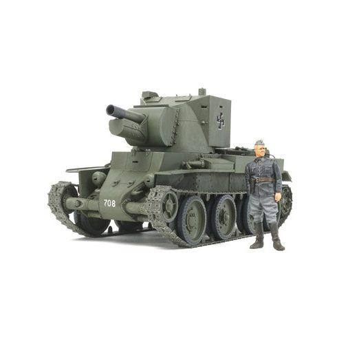 Tamiya Finnish Army Assault Gun BT-42 makett