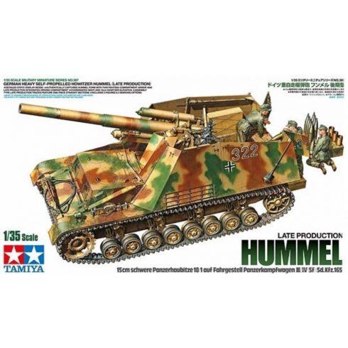 Tamiya Sd.Kfz.165 Hummel (Late) makett