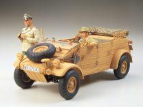 Tamiya German Kubelwagen Type82 Africa Corps makett