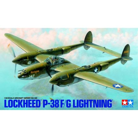 Tamiya Lockheed P-38F/G Lightning makett