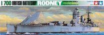 Tamiya British Battleship Rodney makett