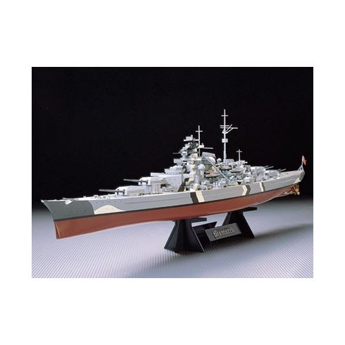 Tamiya German Battleship Bismarck makett