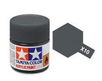 Tamiya Mini Acrylic X-10 Gun Metal