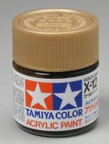 Tamiya Mini Acrylic X-12 Gold Leaf