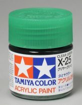 Tamiya Mini Acrylic X-25 Clear Green