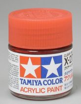 Tamiya Mini Acrylic X-27 Clear Red