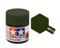 Tamiya Mini Acrylic XF-11 Japan Navy Green
