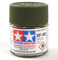 Tamiya Mini Acrylic XF-89 Dark Green 2