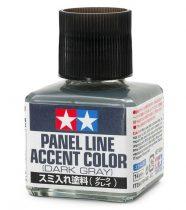 Tamiya Panel Line Accent Color Dark Gray