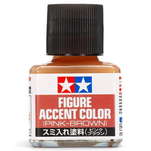 Tamiya Figure Accent Color Pink-Brown