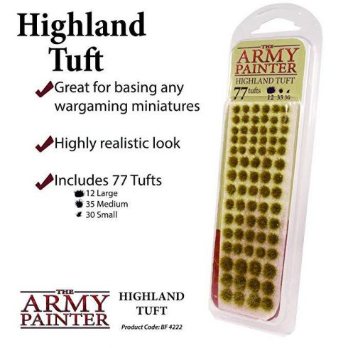 The Army Painter - Highland Tuft (fűcsomó)