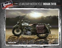 Thunder Model US Military Motorcycle Indian 741B makett