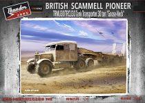 Thunder Model Scammell Pioneer TRMU30/TRCU30 Tank Transporter 30 ton 'Goose Neck' makett