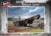 Thunder Model Scammell Pioneer TRCU30 Goose Neck Trailer 30t makett