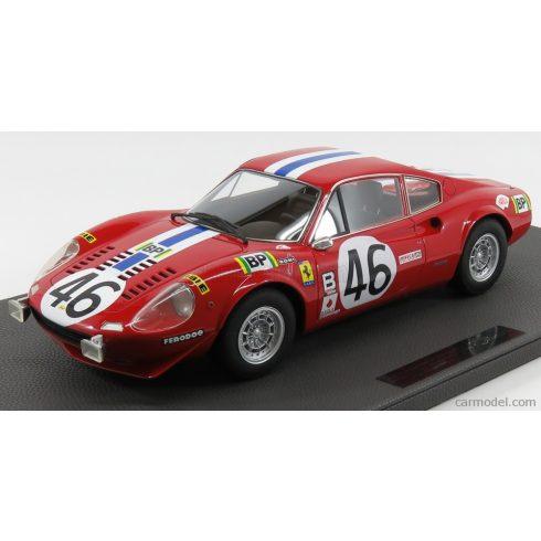 TOPMARQUES FERRARI DINO 246 GT TEAM NORTH AMERICAN RACING N.A.R.T. N 46 24h LE MANS 1972 LAFFEACH - DONCIEUX