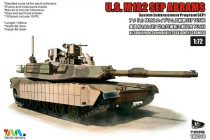 Tiger Model U.S. M1A2 SEP Abrams makett