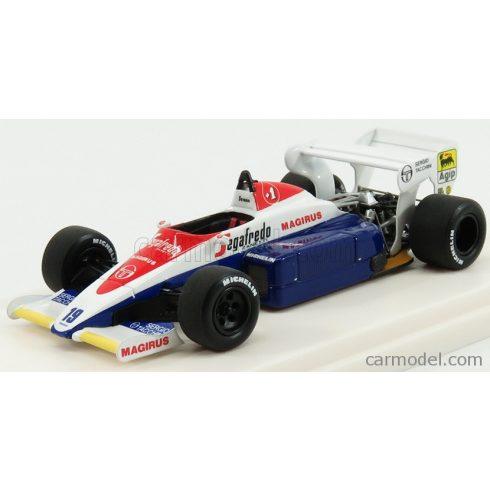 TAMEO TOLEMAN F1 HART TG184 N 19 3rd BRITISH GP 1984 AYRTON SENNA