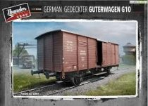 Thunder Models German Gedeckter Güterwagen G10 makett