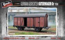 Thunder Models German Gedeckter Güterwagen Gr 15t makett