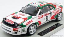 Topmarques TOYOTA CELICA GT4 TURBO 4WD (ST185) TEAM EUROPE N 8 WINNER RALLY SANREMO 1994 D.AURIOL - B.OCCELLI