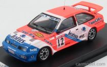 TROFEU FORD ENGLAND SIERRA COSWORTH N 12 8th RALLY DU CONDROZ 1987 M.SOULET - P.WILLEM