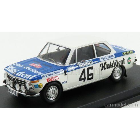 TROFEU BMW 2002ti N 46 RALLY MONTECARLO 1973 R.HAINBACH - W.BIEBINGER