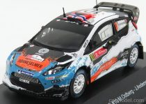 MINIPARTES FORD ENGLAND FIESTA RS WRC N 10 RALLY PORTUGAL 2012 M.OSTBERG - J.ANDERSSON