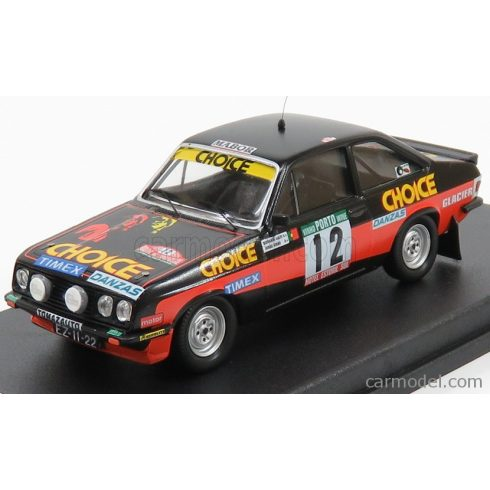 TROFEU FORD ENGLAND RS2000 N 12 RALLY PORTUGAL 1979 G.SALVI - J.CIRNE