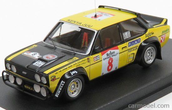 TROFEU FIAT 131 ABARTH N 8 RALLY SAFARI 1981 R.COLINGE - J.LYALL