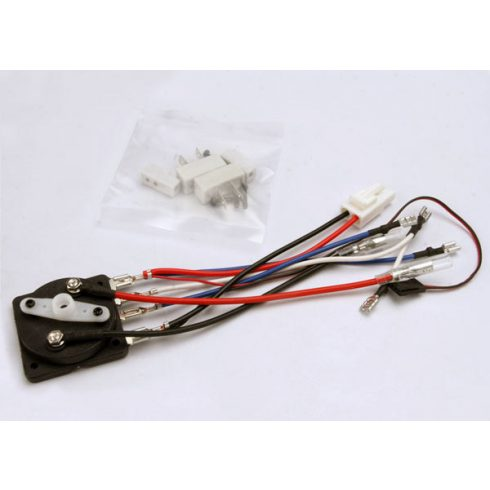 Traxxas Rotary speed control with resistors