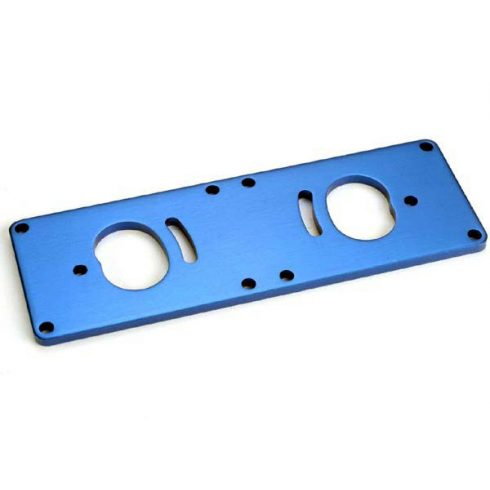 Traxxas Motor plate, T6 aluminum (improved design: older models require upgrading with part #1521R)
