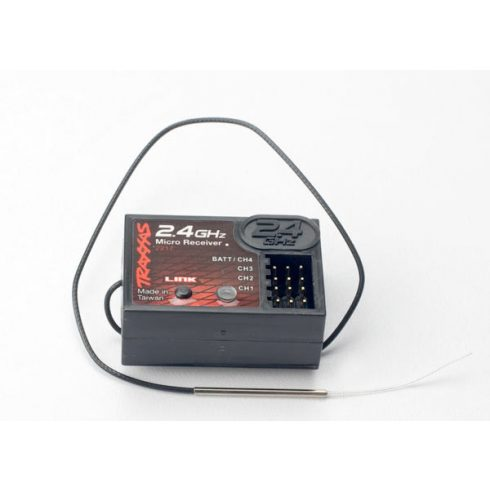 Traxxas Receiver, micro 2.4 Ghz (4-channel)