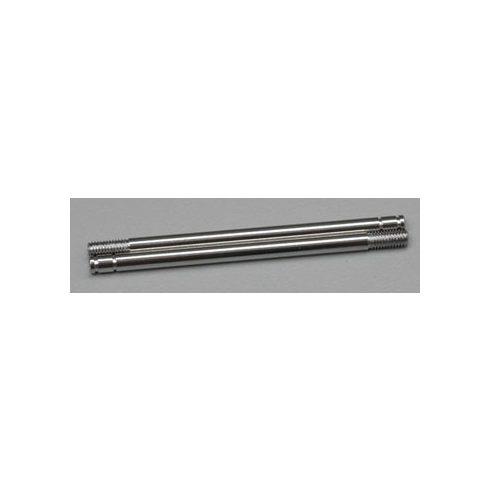 Shock shafts, steel, chrome finish