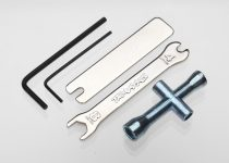 Traxxas Tool Set (1.5mm &2.5mm allens/ 4-way lug, 8mm &4mm wrench & U-joint wrenches)