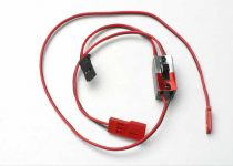 Traxxas Wiring harness for RX Power Pack, Traxxas® nitro vehicles (includes on/off switch and charge jack)