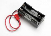 Traxxas Battery holder, 4-cell (no on/off switch) (for Jato and others that use a male Futaba style connector)