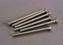 Traxxas Screws, 3x36mm countersunk machine (6)