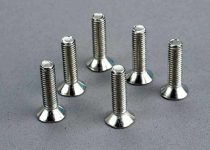 Traxxas Screws, 5x20mm countersunk machine (6)