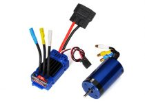 Traxxas Velineon® VXL-3m Brushless Power System, waterproof (includes waterproof VXL-3m ESC and Velineon 380 motor)