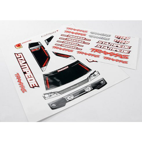 Traxxas Decal sheets, Stampede®
