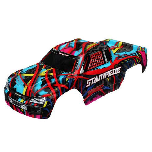 Traxxas Body, Stampede®, Hawaiian graphics (painted, decals applied)