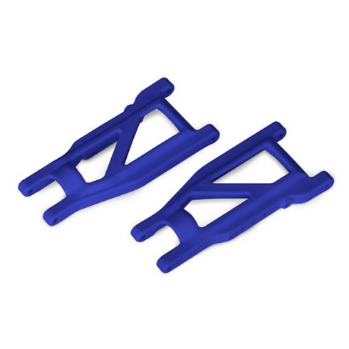 Traxxas Suspension arms, blue, front/rear (left & right) (2) (heavy duty, cold weather material)