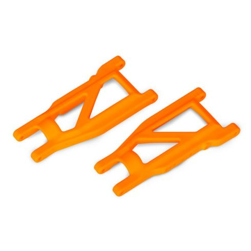 Traxxas Suspension arms, orange, front/rear (left & right) (2) (heavy duty, cold weather material)