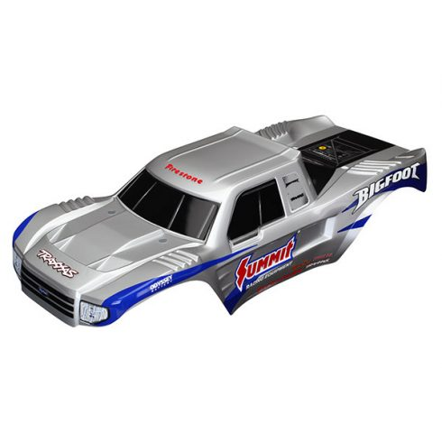 Traxxas  Body, Bigfoot® Summit Racing Equipment®, Officially Licensed replica (painted, decals applied)