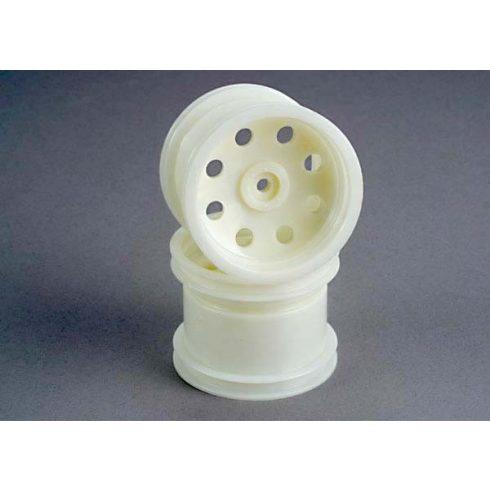 Traxxas Wheels, dyeable nylon 2.2 (rear) (2)