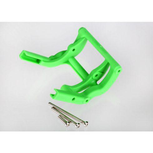 Traxxas Wheelie bar mount (1) / hardware (green)