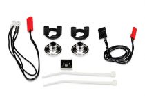 Traxxas  LED Lights/ harness (2 red lights)/LED housing (2) /housing retainer (2)/wire clip (1)/wire ties (3)